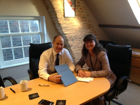 Kevin Hollinrake, Mp, Conservative, Lydai Bright, HMRC , Approachbale Accountants, Easingwold